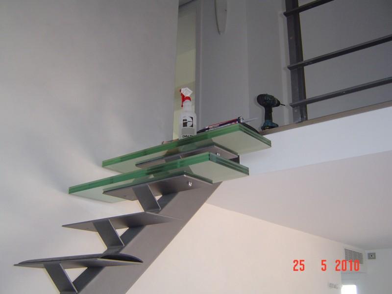 L Escalier En Verre Contemporain Aix En Provence